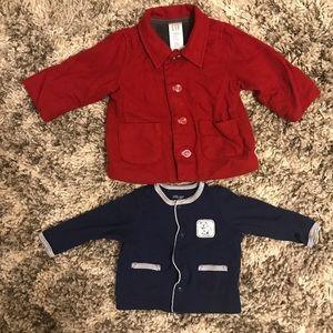 Other - Boys 3-6m Fall/Winter Jacket Bundle